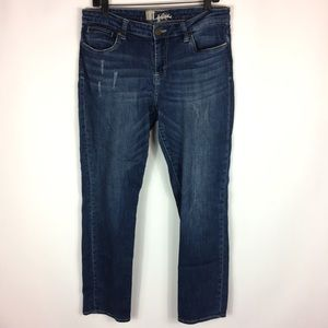 Kut From The Kloth Distressed Skinny Jeans Size 10